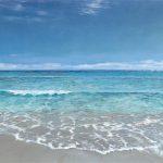 seascape 140 x 190cm vom Künstler überarbeiteter Leinwanddruck auf Keilrahmen. Signiert, Auflage 25 Stck.