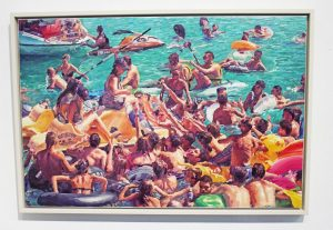 "Javier Vazquez ""redbullwrangler"" Acryl/Leinwand 67 x 100cm"